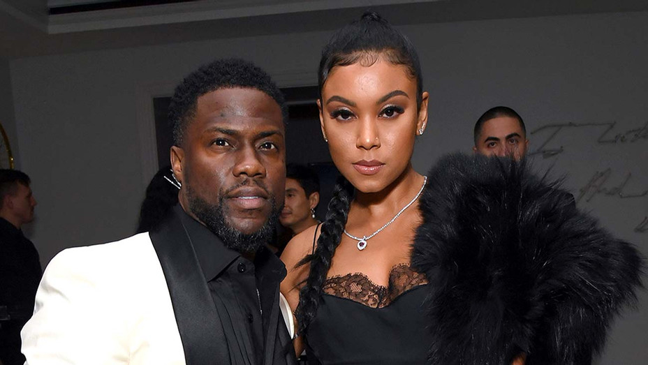 Kevin Hart and Eniko Parrish - Getty - H 2020