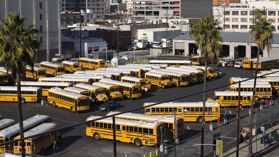 LAUSD Busses - Getty - H 2020