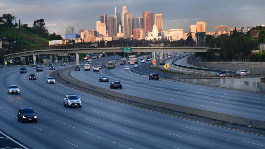 Los Angeles Freeway March 20 2020