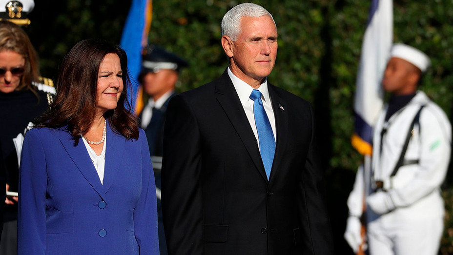 US Vice President Mike Pence and Second Lady of the United States Karen Pence - Getty - H 2020