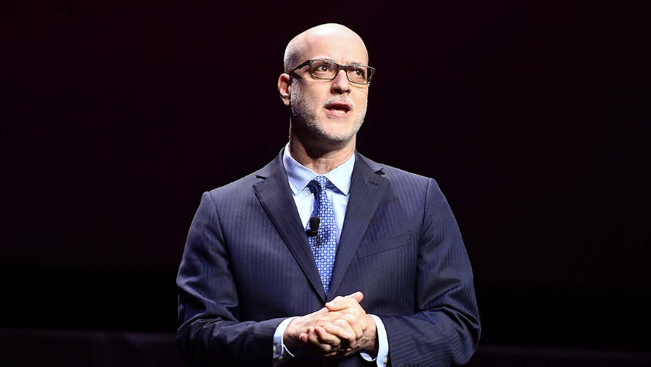 Nato President & CEO John Fithian speaks onstage at CinemaCon 2019- Getty- H 2020