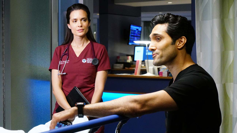 CHICAGO MED - In The Name Of Love Episode 518 - Torrey DeVitto - Dominic Rains - Publicity -H 2020