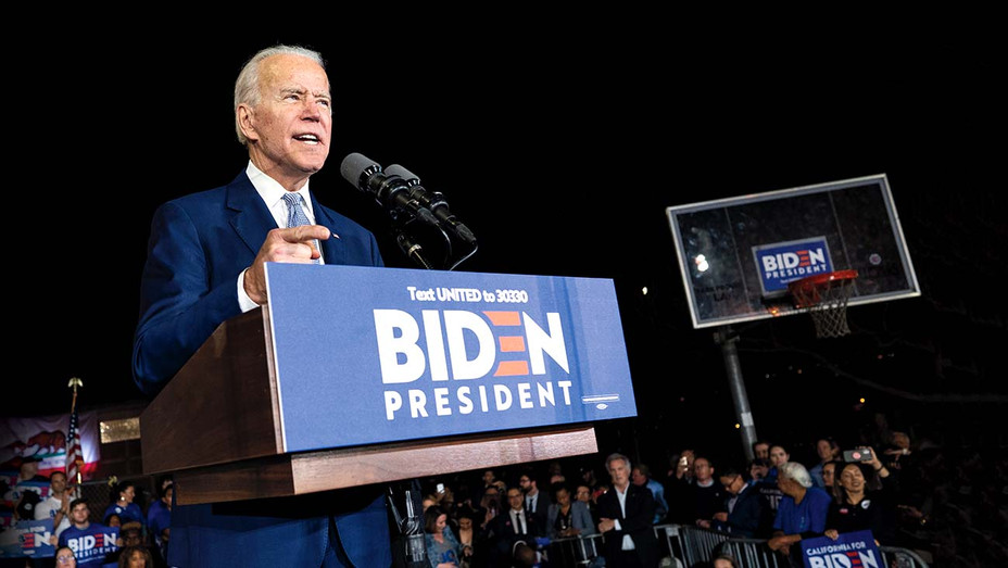 ONE TIME USE ONLY - Former Vice President and Democratic presidential candidate Joe Biden - Getty - H 2020