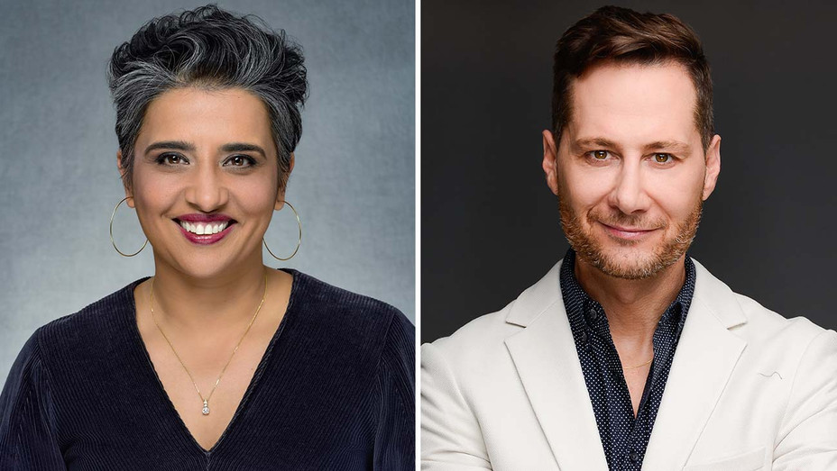 Puja Vohra and Garrett Wagner-Showtime Publicity -H 2020