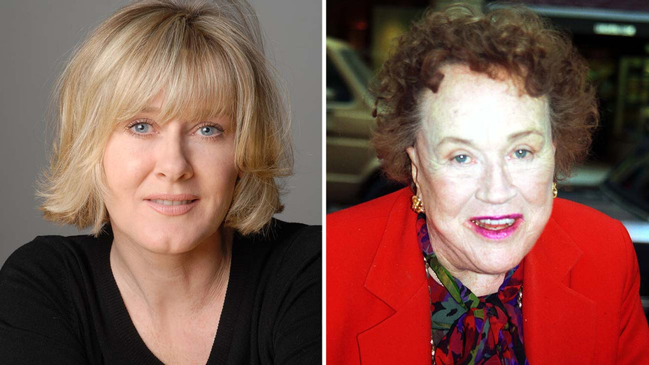 Sarah Lancashire and Julia Child- Split -H 2020