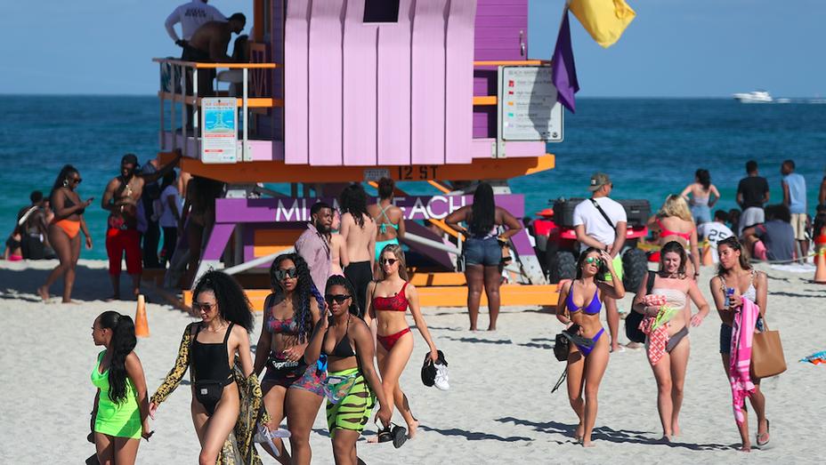 Miami Beach Spring Breakers - Getty