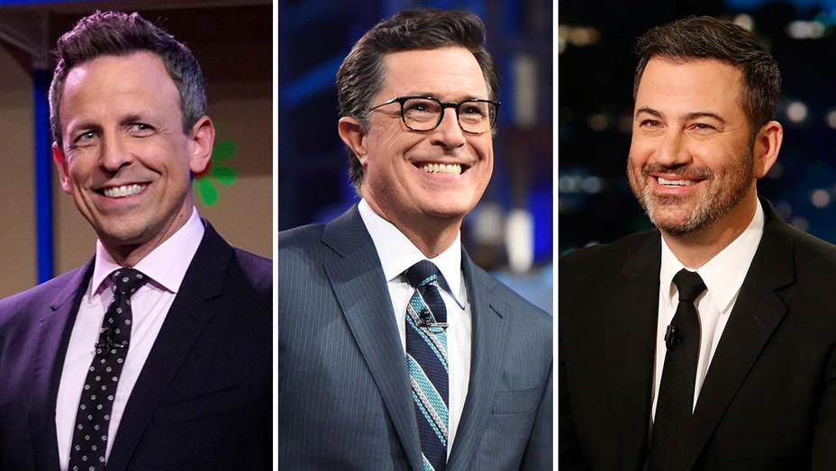 Seth Meyers - Stephen Colbert - Jimmy Kimmel - Split - H 2020