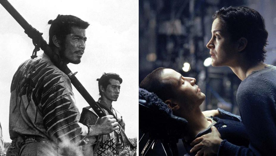 Seven Samurai - The Matrix - Photofest stills - Split - H 2020