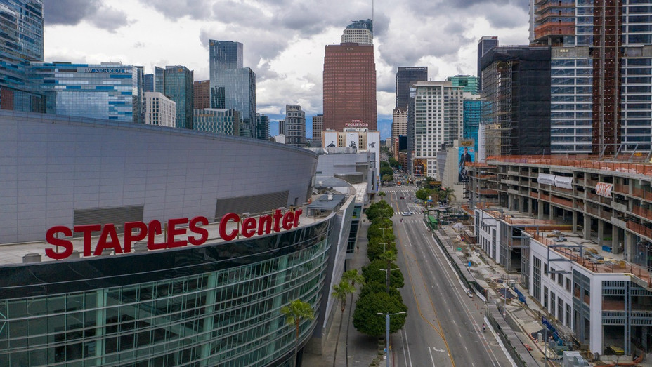 Staples Center March 20 2020