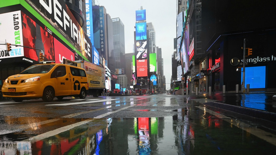 Times Square March 23 2020
