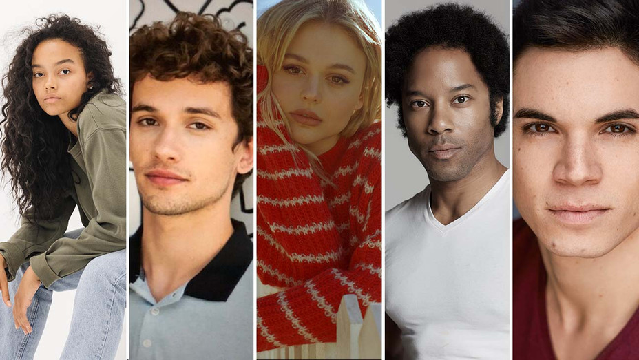 Whitney Peak, Eli Brown, Emily Alyn Lind, Johnathan Fernandez, Jason Gotay - Publicity- Split - H 2020