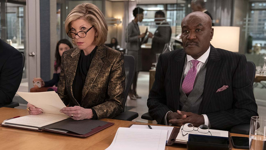 THE GOOD FIGHT - The Gang Deals with Alternate Reality - Episode 401 Christine Baranski -Delroy Lindo