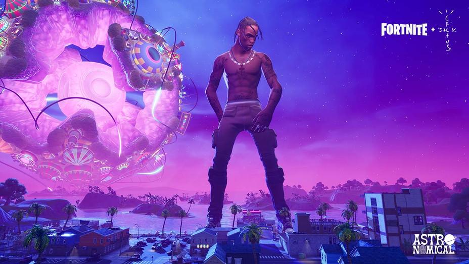 Travis Scott in Fortnite - Epic Games - Publicity-H 2020