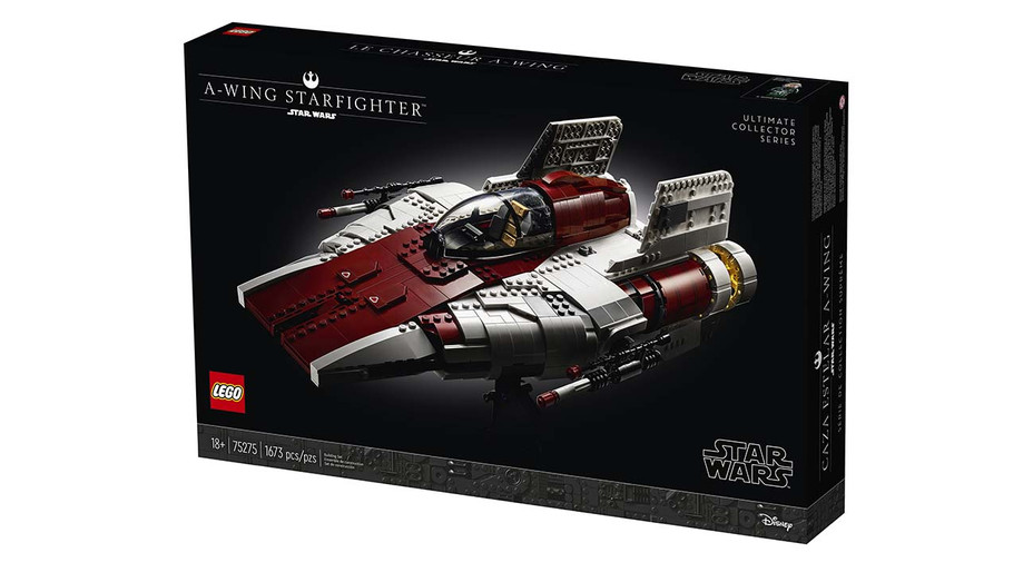 LEGO Star Wars A-Wing Starfighter -Hero - LEGO Publicity -H 2020