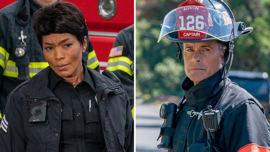 """Angela Bassett on """"911"""" and Rob Lowe on """"911: Lone Star"""" - Publicity-H 2020"""