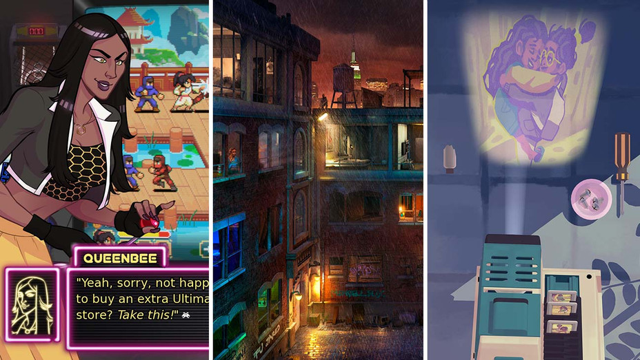 Arcade Spirits, Fire Escape and Assemble With Care- Publicity - Split - H 2020