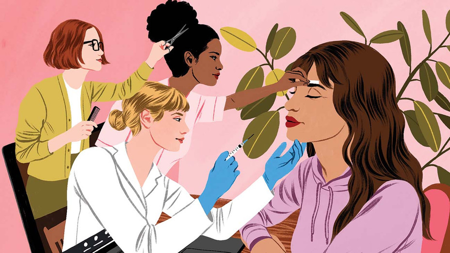 ONE TIME USE ONLY - Top Salon Beauty Hacks at Home - Illustration by Bijou Karman- H 2020