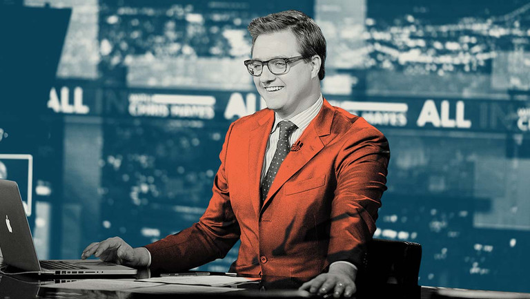 "How Hollywood Works Now: MSNBC's Chris Hayes Was ""Made For This Moment"""