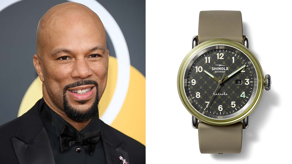 Common and cannabis-themed watch-Split-H 2020