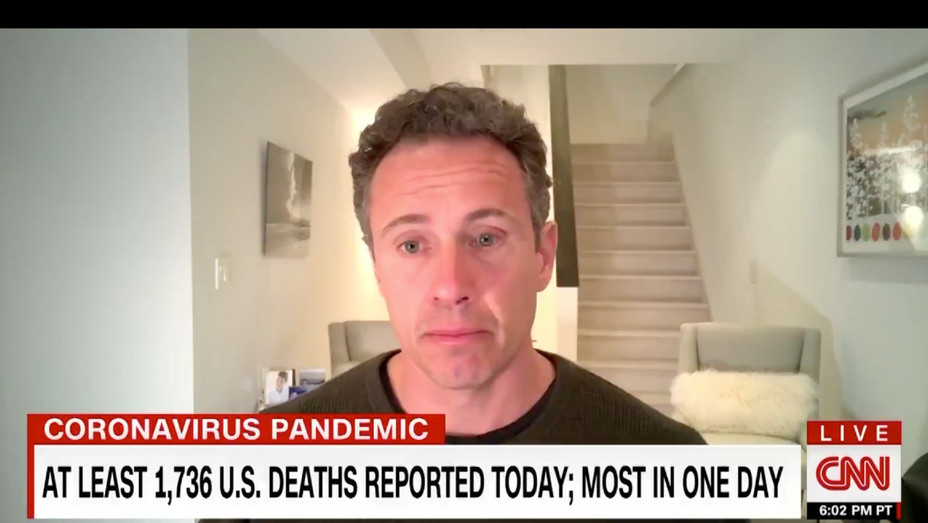 Chris Cuomo Coronavirus Update - Screenshot - H 2020