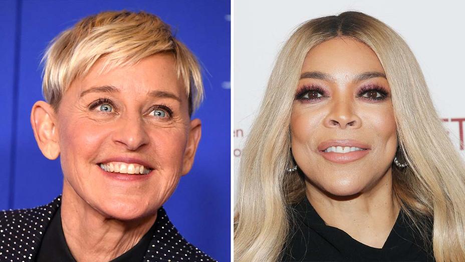 Ellen DeGeneres and Wendy Williams - Getty - Split - H 2020