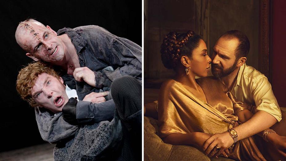 Frankenstein and Anthony & Cleopatra - Production Stills - Split - H 2020