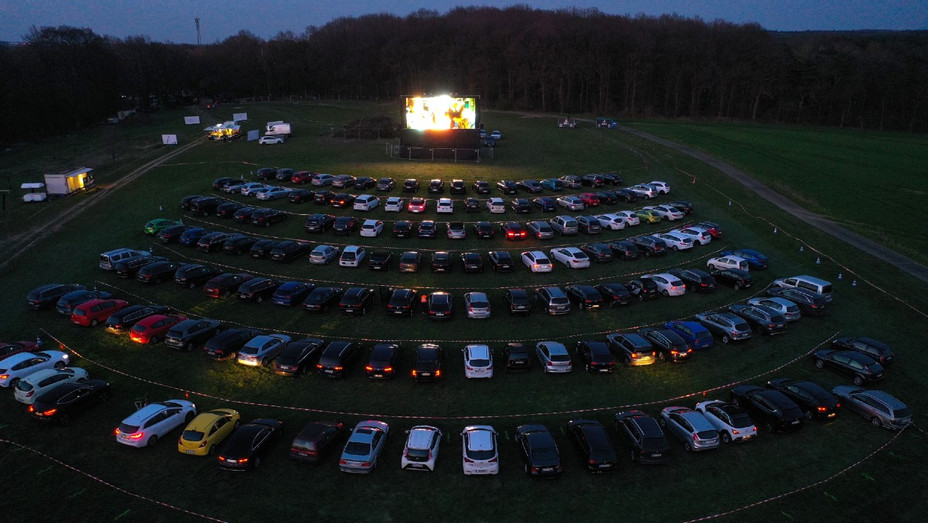 German drive-in theater