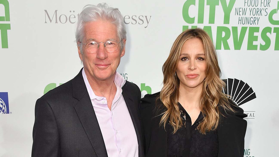 Richard Gere and his Alejandra Silva -The 2019 Gala on April 30, 2019 -Getty-H 2020