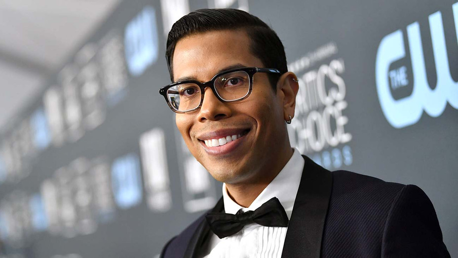 Steven Canals attends the 25th Annual Critics' Choice Awards - Getty -H 2020