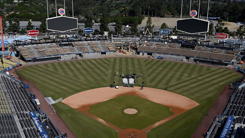 Dodger Stadium empty - shown on February 12, 2020 - General view 2-H 2020
