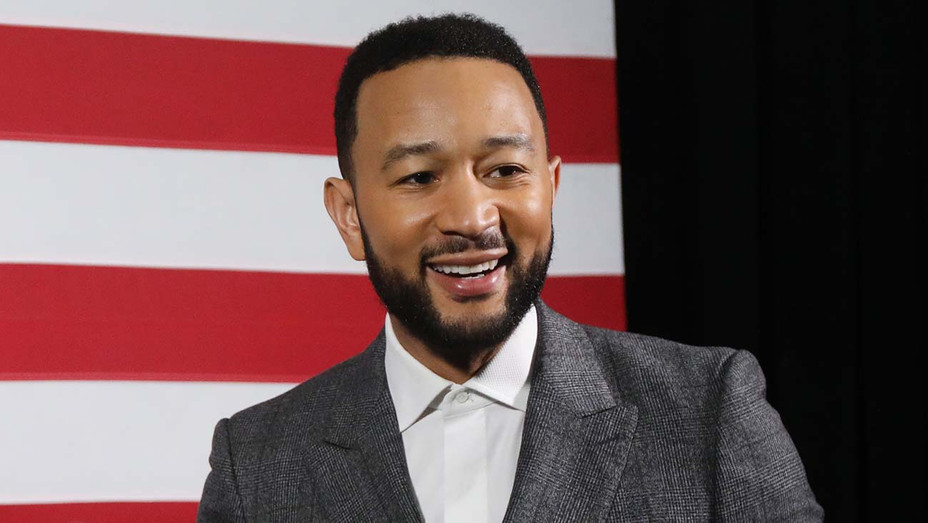 John Legend backstage at a Get Out the Vote Rally - February 26, 2020 - Getty-H 2020