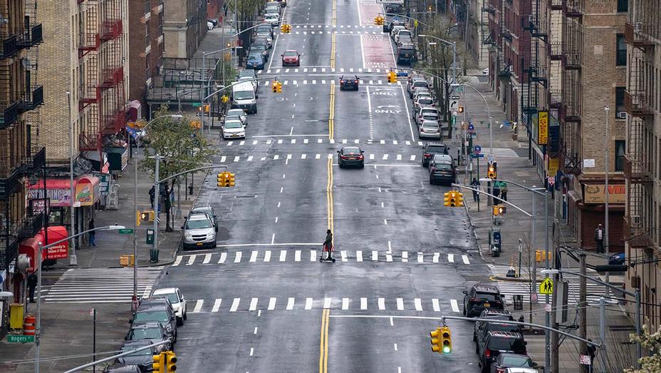 Coronavirus Pandemic - New York Streets - 163rd street - Getty -H 2020