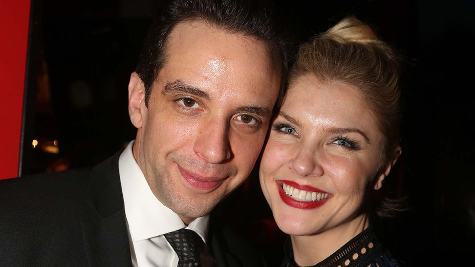 Nick Cordero and Amanda Kloots -Party for Crazy For You One Night Only Production-Getty-H 2020