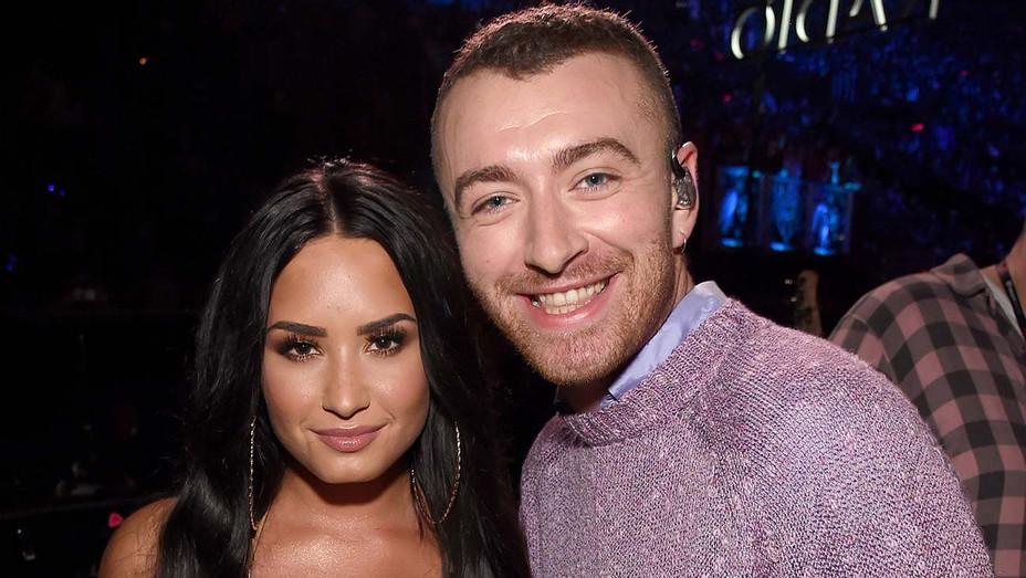 Sam Smith and Demi Lovato — Getty — H 2020
