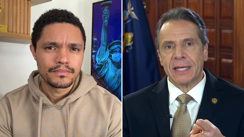 Governor Andrew Cuomo to Give First Late Night Interview on The Daily Show with Trevor Noah - Publicity - H 2020