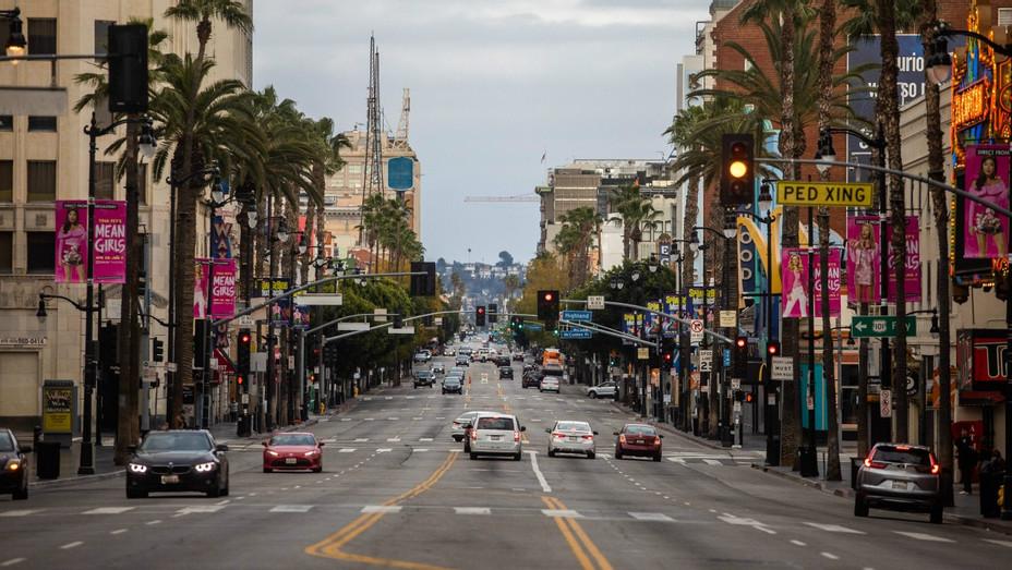 Hollywood Blvd April 19 2020 Los Angeles