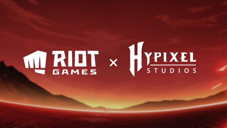 Riot Games x Hypixel Studios logo- Publicity-H 2020
