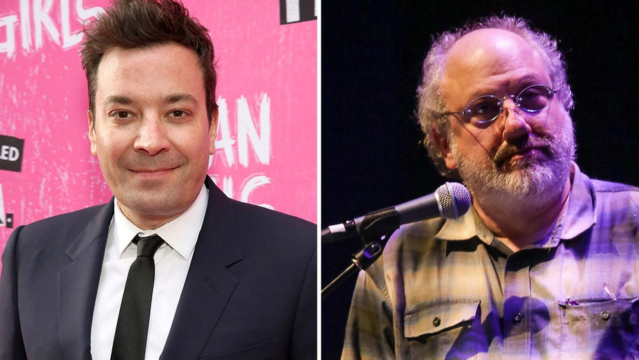 Jimmy Fallon and Hal Willner-Split-Getty-H 2020