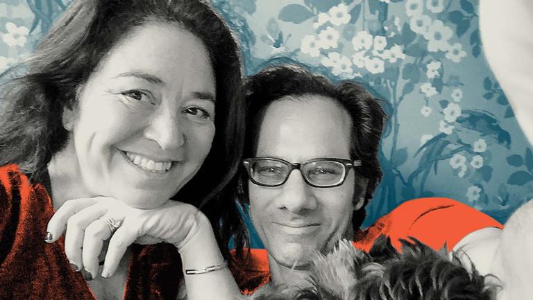 <p>Liz Garbus and Dan Cogan</p>