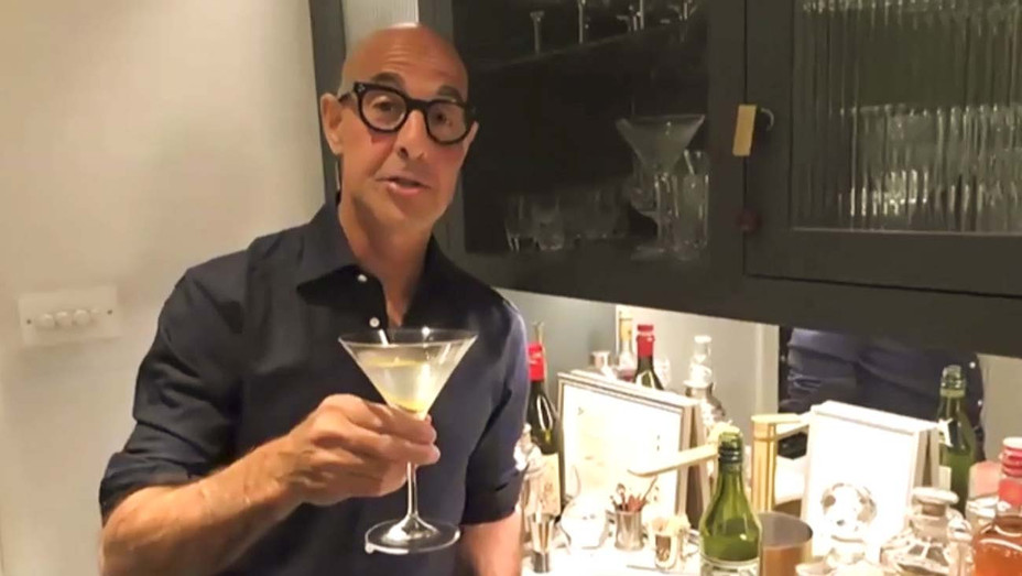 Stanley Tucci on The Late Late Show - CBS Publicity - H 2020