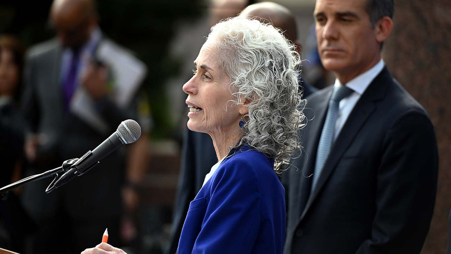 Los Angeles County Public Health director Barbara Ferrer - Covid-19- Getty -2- H 2020