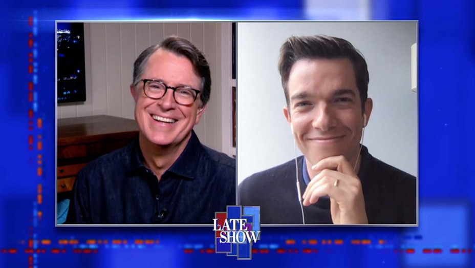 John Mulaney and Stephen Colbert on The Late Show - CBS Publicity_H 2020