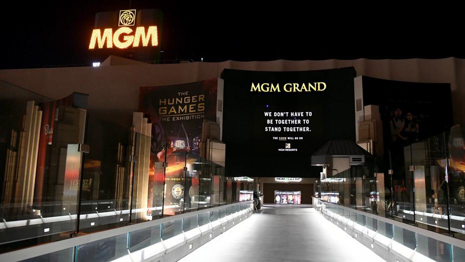 MGM Grand Las Vegas April 2 2020
