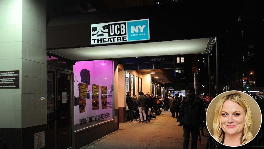 New York City Upright Citizens Brigade show in their Chelsea space - Amy Poehler - Getty - Inset - H 2020