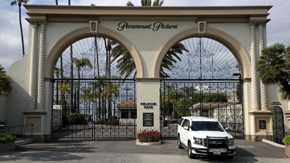 Paramount Pictures Entrance Los Angeles April 20 2020