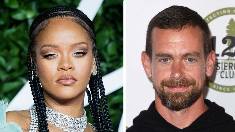 Rihanna - Jack Dorsey- Getty - Split - H 2020