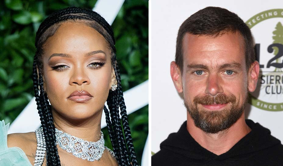 Rihanna And Jack Dorsey To Fund 4 2m Grant For Domestic Violence Programs In L A Hollywood Reporter