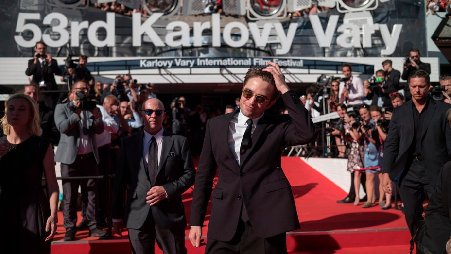 Robert Pattinson at the Karlovy Vary Film Festival in 2018
