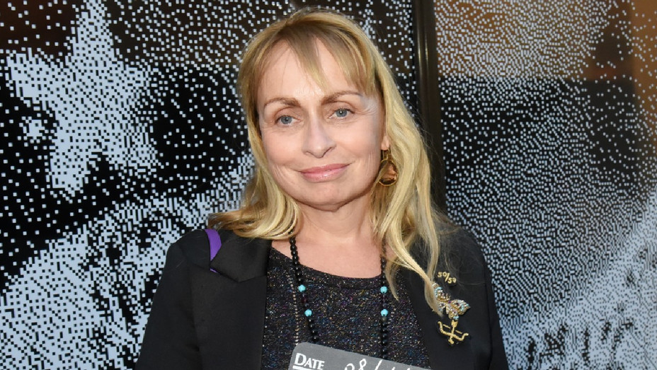 Rosalie Varda at a tribute to her mother Agnes Varda in Paris April 8, 2019
