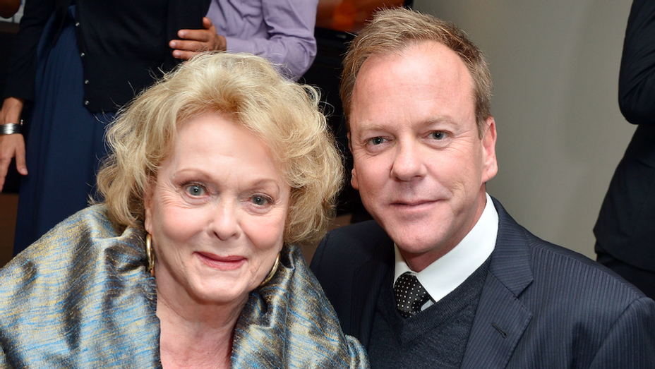 Shirley Douglas and Keifer Sutherland - Getty